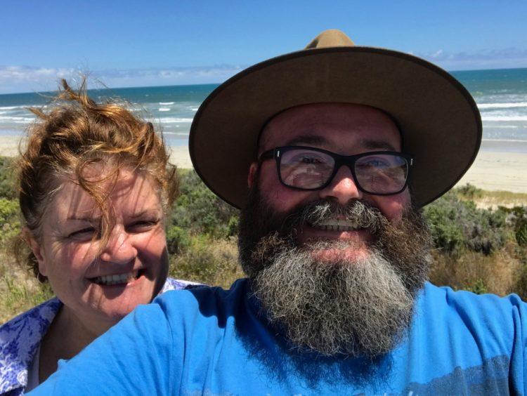 Megan and David Selfie at The Granites