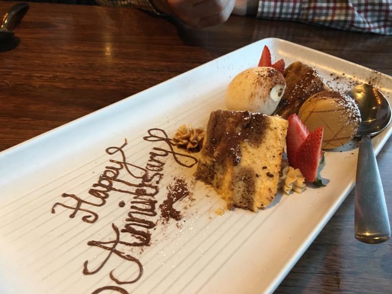 Tiramisu to share on our anniversary