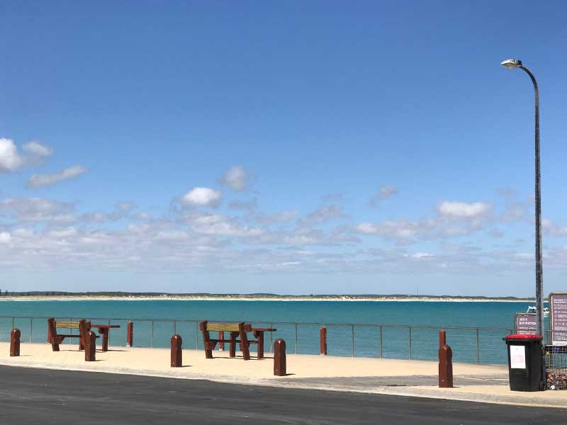 Beachport Jetty beach