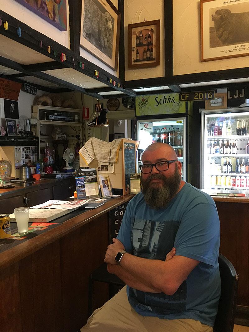 David at Mount Bryan Bar