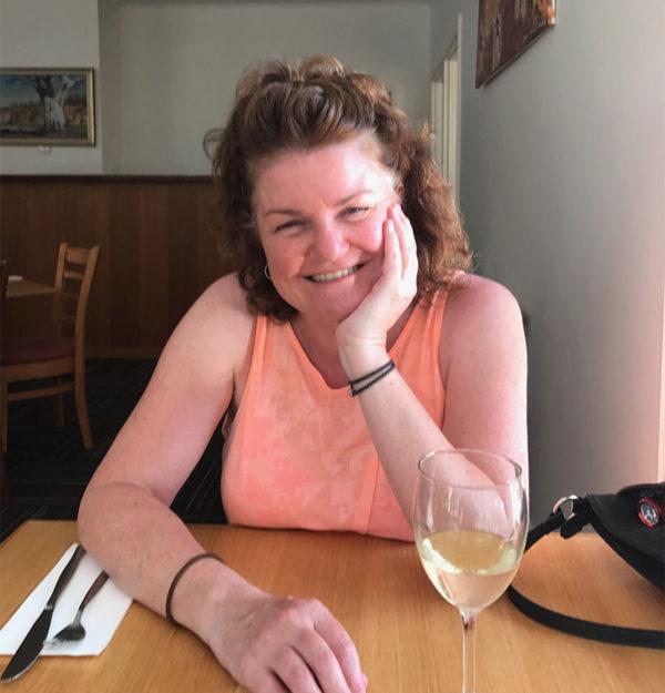 Megan at Wilpena Pound restaurant