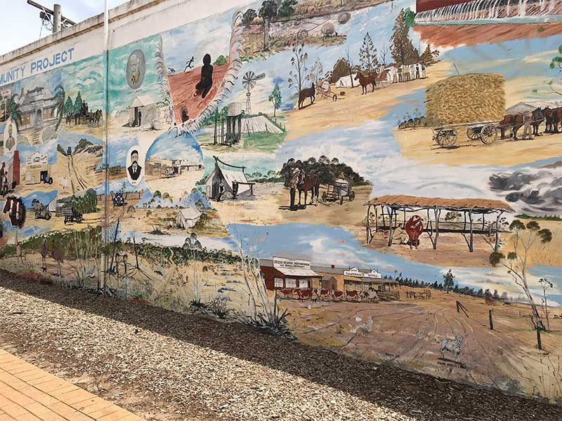 Ouyen Community Historical Mural