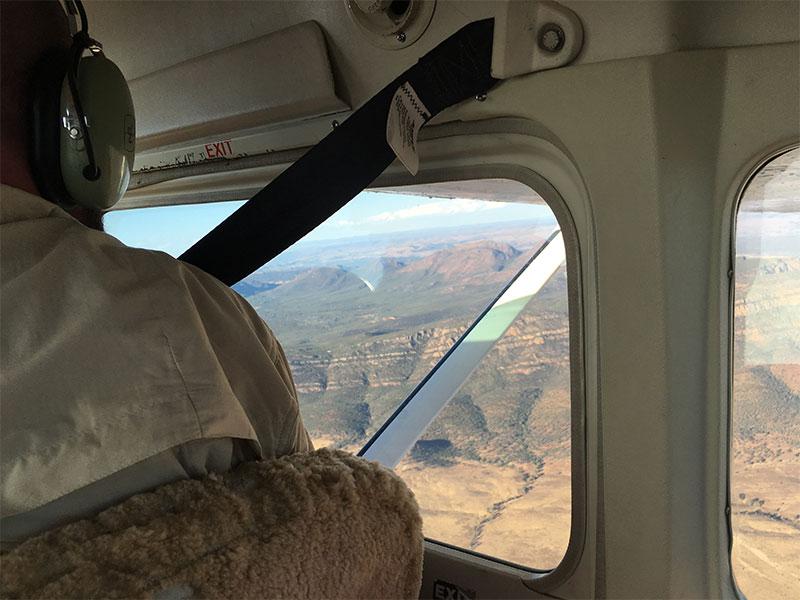 Wilpena Pound scenic flight