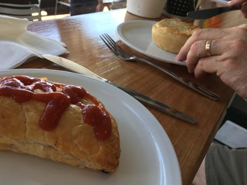 Daylesford Bakery pastie