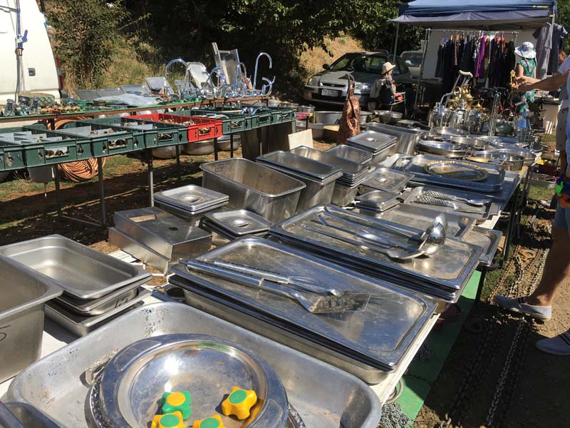 Daylesford Sunday Market silverware