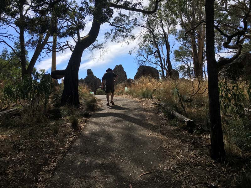 Hanging Rock Path