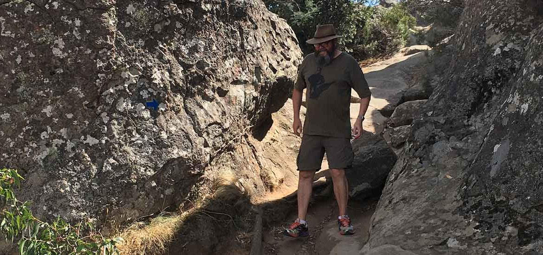 Dave Hanging Rock