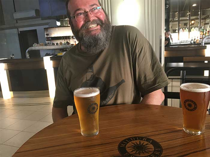 Beer at the Mildura Brewery