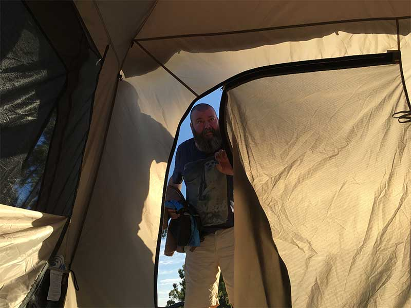 Coleman Tent ⋆ Hatch A Holiday