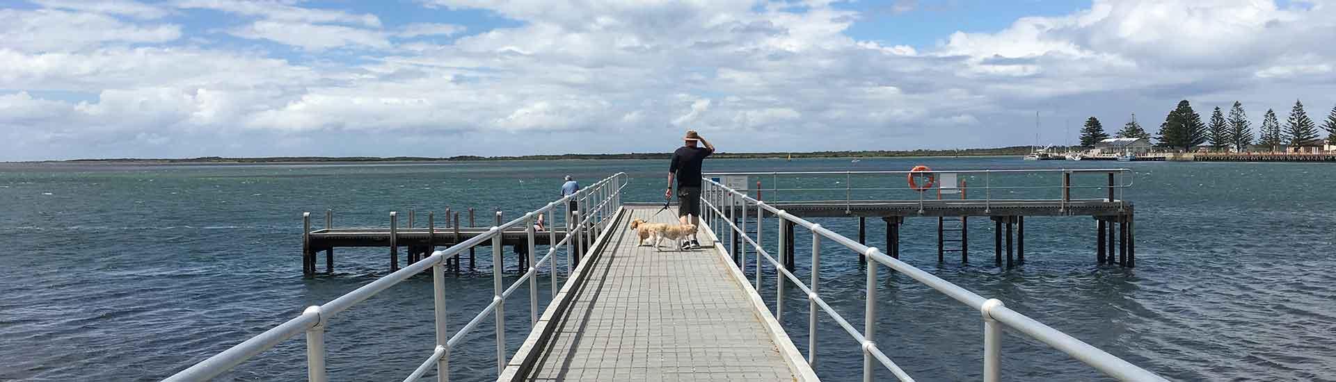 Port Albert Windy Day