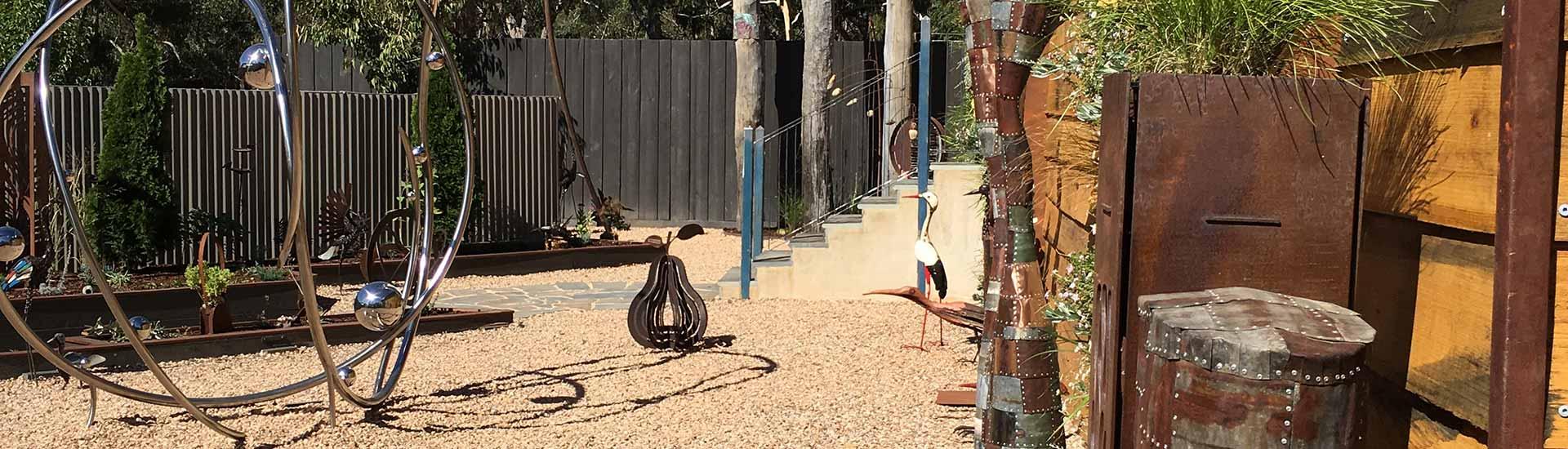 Michael Parker Sculpture Garden Daylesford