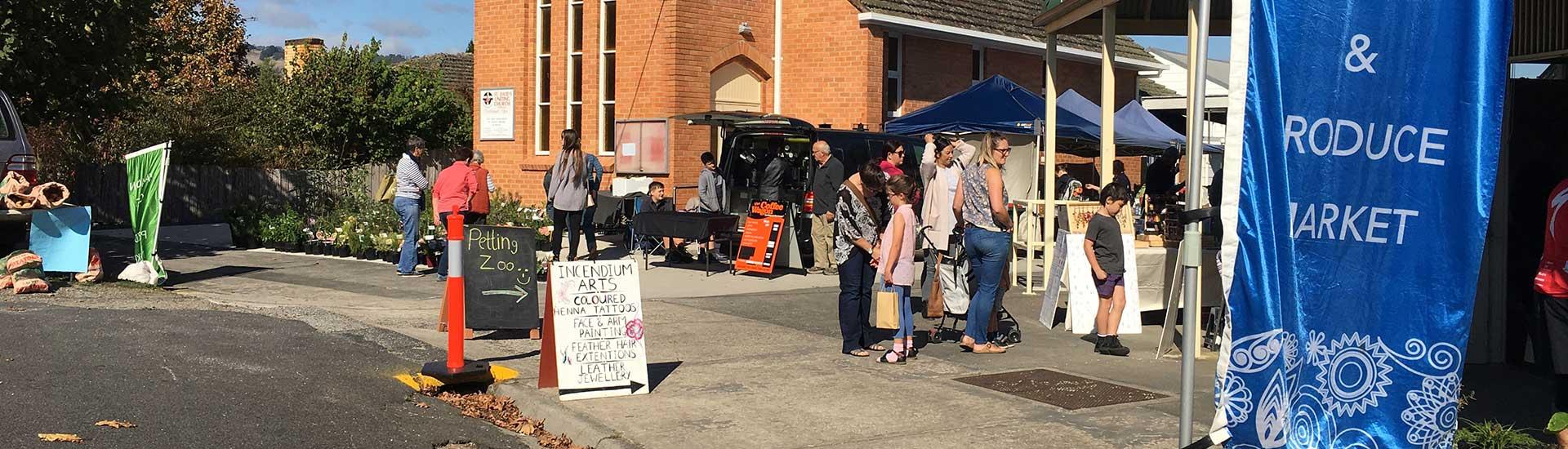 Yarragon Craft Market, Victoria