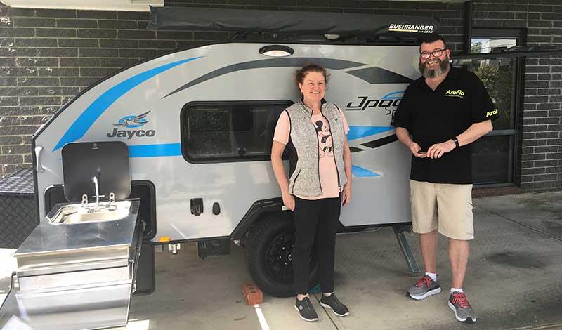 Megan and David Jpod Sport